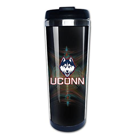 Connecticut Huskies Thermal Mug, Connecticut Thermal Coffee Mug, Connecticut Insulated Mug