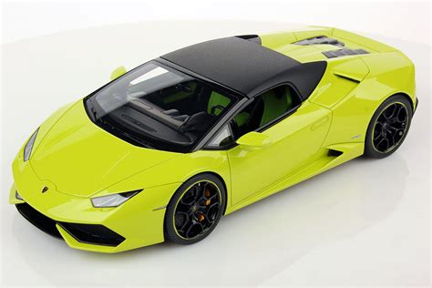 lamborghini models lamborghini huracan lp 610 4 spyder soft top 1 18 mr