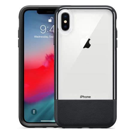 otterbox statement series iphone xs max black clear