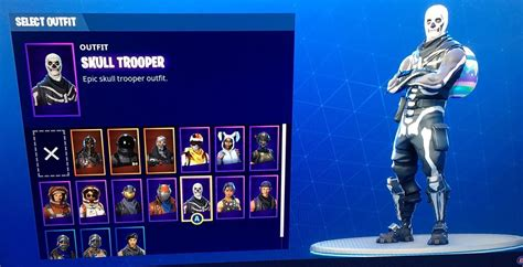 fortnite account xbox one fortnite account with skull trooper and many more