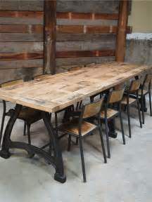 plateau chene massif pour table les 25 meilleures id 233 es de la cat 233 gorie table industrielle