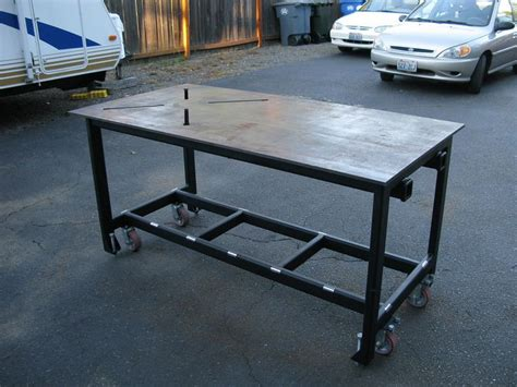 Pin By Darroll Reddick On Welding Shop Table Pinterest Welding Table Plans