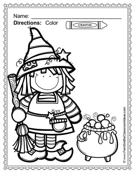 free preschool coloring pages halloween 27 best halloween worksheets images on pinterest