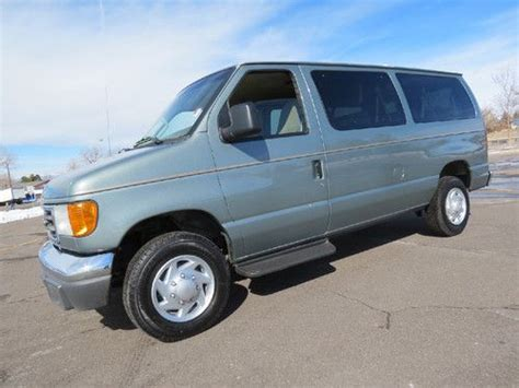 repair anti lock braking 2006 ford e 350 super duty van auto manual sell used 2006 ford e 350 12 passenger van xlt fleet lease company van 5 4 v8 loaded clean in