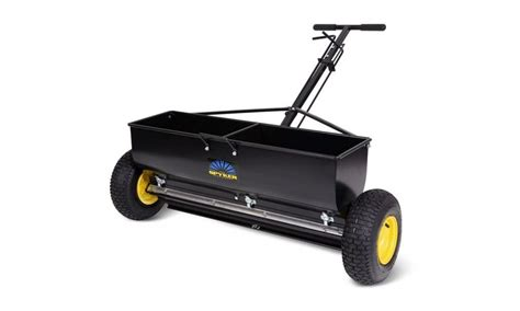 spyker review spyker p70 12010 commercial grade drop spreader review