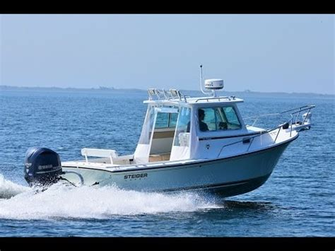small pilot house boats steiger craft boats 23 dv miami pilot house youtube