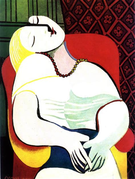 picasso paintings le reve frenchy baguette quot is a lie that makes us realize the