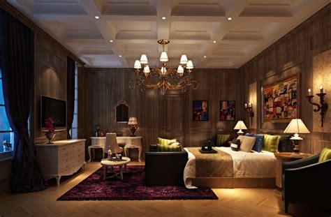 bedroom night wooden wall bedroom night rendering download 3d house