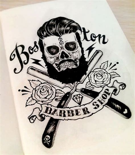 barber tattoo logo 1000 ideas about classic barber shop on pinterest