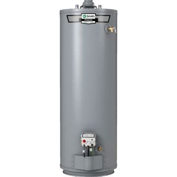 38 gallon water heater gas a o smith 174 40 gallon tall w side taps gas water heater