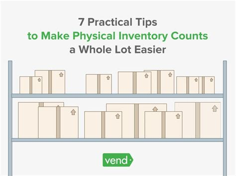 Tips For Creating An Inventory - 7 practical tips to make physical inventory counts a whole
