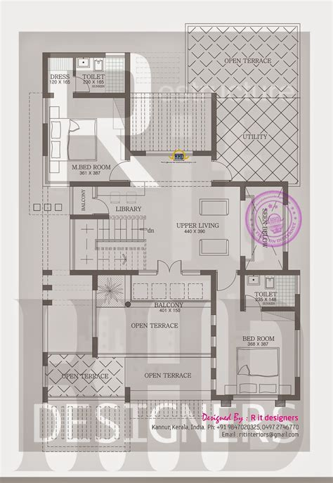 trendy house plans stylish trendy house plan kerala home design and floor plans