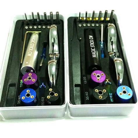 Kuro Koiler 6 In 1 Vape Coiling Tool newest design magic stick cw e cigarette diy rda coil tool box master vape jig kit 6 in 1 wire