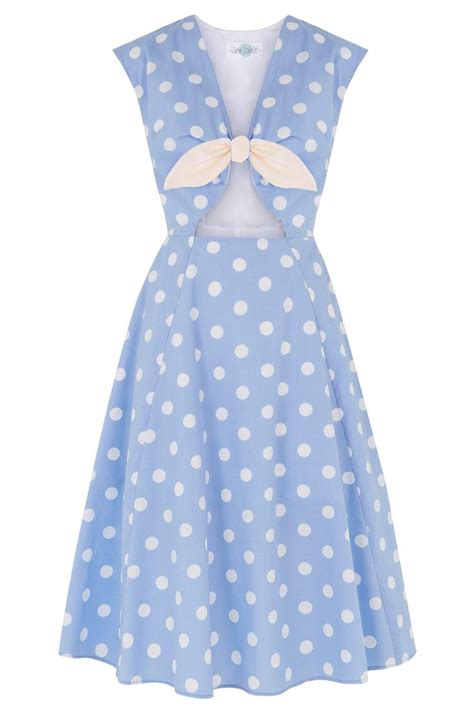 Blue Sweet Retro Dress From Tara Deluxe 10 best got the blues images on retro style vintage fashion and blouses