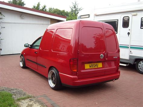 volkswagen caddy wheels red vw caddy mk2 on oz turbo wheels vw caddy mk2 polo