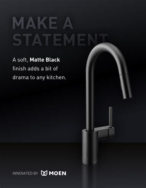 moen black kitchen faucet moen arbor single handle pull out sprayer kitchen faucet