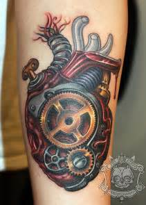 30 awesome steampunk tattoo designs art and design
