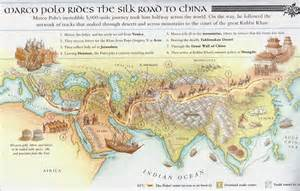 Marco Polo Route Map by Silk Road Maps Useful Map Of The Ancient Silk Road Routes
