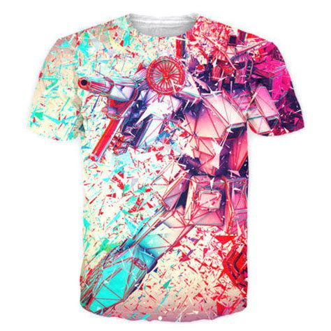 multi color shirt s and l printed multicolor sublimation t shirt rs 250