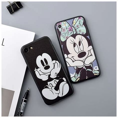 Fashion Mickey Minnie For Iphone 5 5s Se popular minnie mouse buy cheap minnie mouse lots