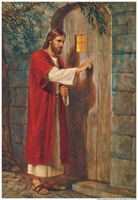 Knock And The Door by A Mortal Perspective Of Eternity Jesus At The Door