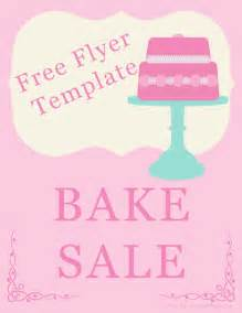 Free Bake Sale Flyer Templates by Bake Sale Flyers Free Flyer Designs