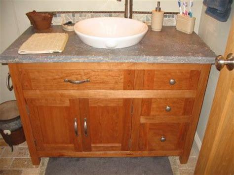cherry bathroom vanity  herb  lumberjockscom
