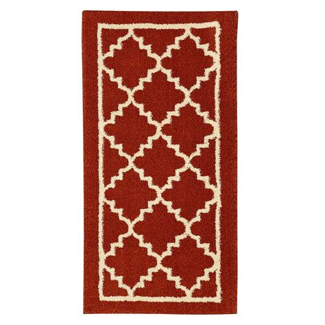 home accents rug collection home decorators collection winslow picante 2 ft x 4 ft accent rug 493035 the home depot