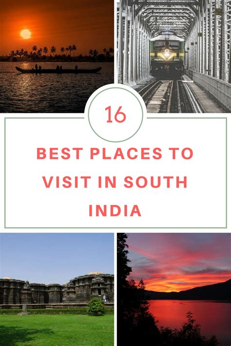 16 top places to visit in south india glorious sunrise
