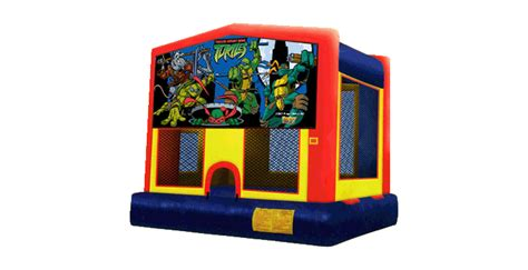 ninja turtle house ninja turtles bounce house bounce on in nj event rentals call 973 747 4900