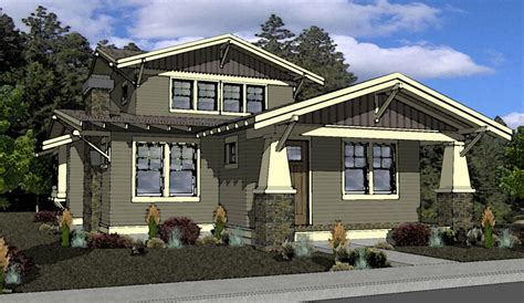 craftsman style home plans with detached garage home decor