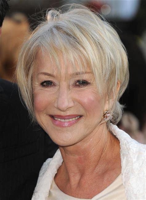 helen k haircuts edinburgh actress dame helen mirren says her boyfriends have taught