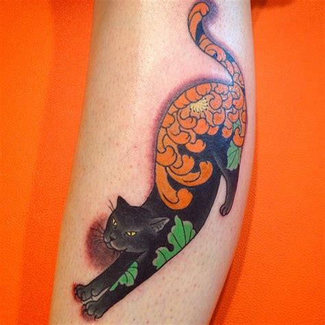 tattoo cat japanese 92 best images about horitomo monmon cats on pinterest