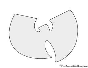 Logo Stencil Wu Tang Clan Logo Stencil Free Stencil Gallery