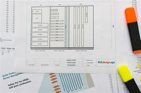 Plc Cabinet Layout by Cabinet Plcdesign
