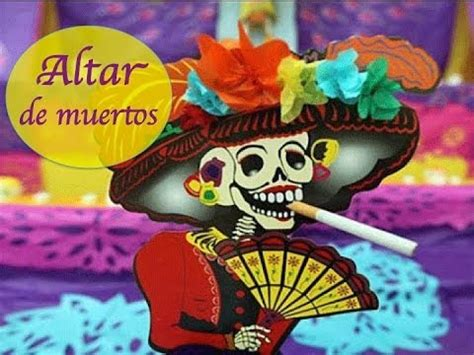 imagenes de como decorar un altar de muertos como decorar un altar de muertos youtube