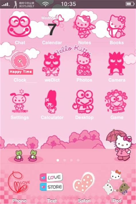 hello kitty themes blogspot iphone theme hello kitty