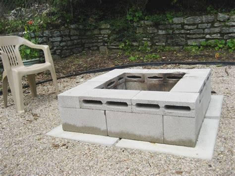 Diy Fire Pit For Cheap For The Home Pinterest How To Build A Backyard Pit Cheap