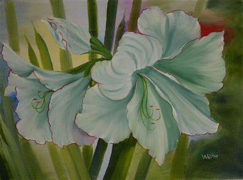 bob ross painting flowers bob ross amaryllis flower painting at paintingforsale me