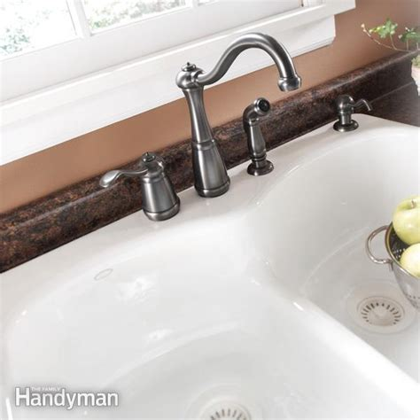 Replace Kitchen Sink Plumbing 11 Pitfalls Of Sink Replacement The Family Handyman