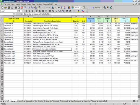 Deck Estimator Software by Floor Cost Estimator For Excel Gurus Floor