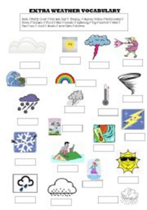 Weather Tools Worksheet by Pictures Weather Tools Worksheet Getadating