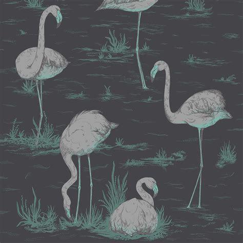 flamingo wallpaper sle buy cole son flamingos wallpaper 95 8048 amara