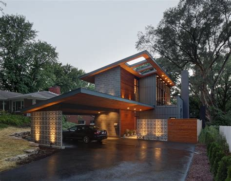 Half Century Rancher Renovated Into Large Modern 2 Story