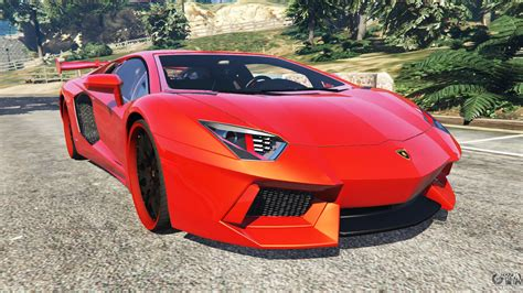 Lamborghini V by Lamborghini Aventador V1 0 For Gta 5