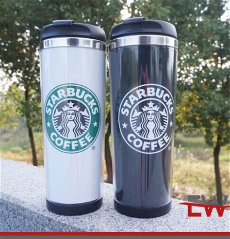 alibaba starbucks 2016 china supplier double wall starbucks cup with insert