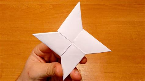 4 Pointed Origami - origami how to make a paper transforming