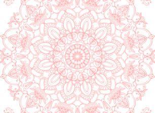 light pink mandala vector pattern  kanvisstyle seamless