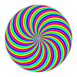 color swirl 90 circle swirl 6 color by 10binary on deviantart