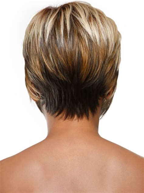 hair style called stacked in the back stacked hair back view stacked bob by sherri shepherd